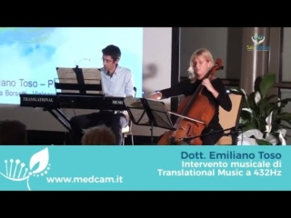"Dott. Emiliano Toso ""Intervento musicale di Translational Music a 432Hz"""